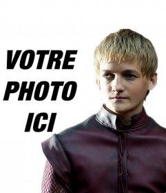 Photomontage à apparaître avec Joffrey Lannister, le méchant roi de Game of Thrones