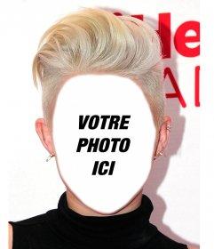Photomontage davoir la coiffure de Miley Cyrus et