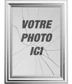 Cadre photo num rique votre image sera refl t e dans un for Effet miroir sur photoshop