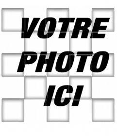Filtrez photos carrées avec un ombrage 3D