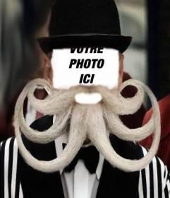 Mettez-vous à la barbe en forme de pieuvre originale avec ce photomontage