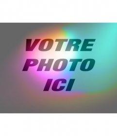 Filtrent la lumière et les couleurs pour donner votre photo en ligne