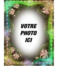 Magie cadre photo vert printemps à faire avec votre photo