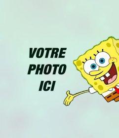 Mettez votre photo avec Sponge Bob ligne