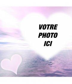 Effet photo avec une lueur damour pour ajouter votre photo en ligne