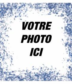 Taches bleues autour de vos photos avec cet effet photo
