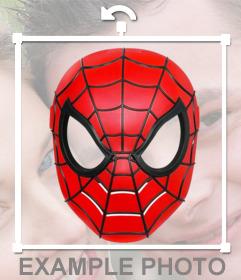Mettez le Spiderman masque avec cet effet de photo en ligne