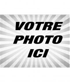 Photo filtre pour le style radiale, pour embellir vos images