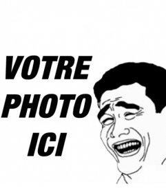 Yao Ming Meme où vous mettez votre photo en ligne