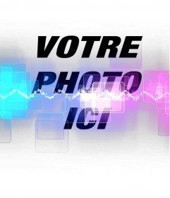 Ajouter à vos photos un effet de photo spéciale avec des lasers et des couleurs fluorescentes