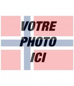 Filtre de Norvège drapeau pour vos images gratuitement