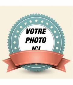 Cadre photo pour décorer vos photos avec un style rétro
