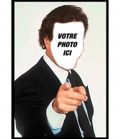 Julio Iglesias Photomontage de mettre votre visage et une phrase et personnaliser les célèbres memes tendances dans WhatsApp et les réseaux sociaux