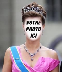 Photomontage dune princesse avec la couronne et v tu de - Couronne princesse disney ...