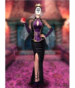 Photomontage de mettre votre visage dans une méchante reine