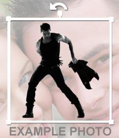 Autocollant du chanteur Ricky Martin