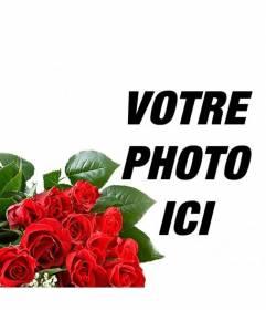 ajoutez vos photos un bouquet de rose romantique de donner. Black Bedroom Furniture Sets. Home Design Ideas