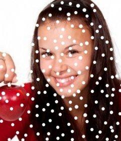 Effet de neige sur vos photos. Mettez un effet de neige avec cet effet photo