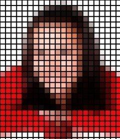 Photo filtre qui ajoute un modèle de point noir à vos photos en leur appliquant un effet très attrayant