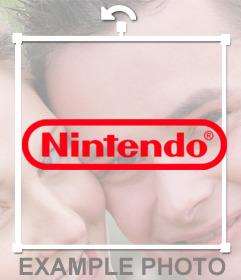 Collez le logo de NINTENDO dans votre photo téléchargeant à cette