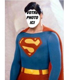Photomontage pour devenir Superman avec la photo que vous voulez