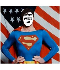 Devenez Superman avec ce photomontage pour éditer avec votre photo