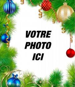 Guirlande de Noël pour décorer votre photo