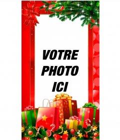 Cartes de Noël pour Facebook Stories et instagram   Photoeffets