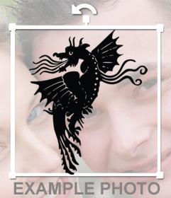 Photomontage de mettre en ligne un tatouage sur vos photos comme si elle était réelle