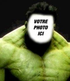 Incredible Hulk photomontages pour mettre votre