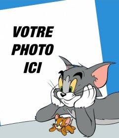 Votre photo avec Tom et Jerry avec en ligne effet photo cette photo effet de parfait pour les enfants qui aiment le dessin animé Tom et Jerry, où vous pouvez modifier leffet Télécharger les photos facile et lenregistrer sans problème