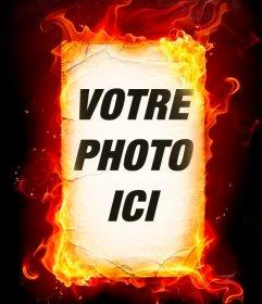 Montage photo de feu que vous pouvez faire avec vos photos en ligne