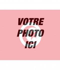 Photo montage de mettre le drapeau de la Tunisie sur une photo que vous téléchargez