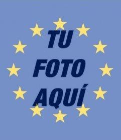 Drapeau de lUnion européenne à mettre dans votre photo
