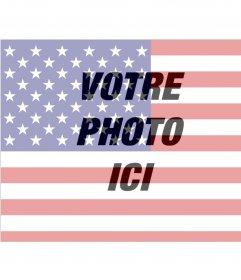 Filtre en ligne de drapeau américain pour ajouter sur Photomontage de vos photos à éditer avec lun de vos images et ajouter le drapeau américain comme un filtre et gratuit. Parfait pour mettre sur votre photo de profil