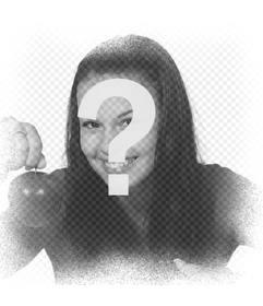 Blanc image bruit de cadre pour donner effet de bruit à votre photo