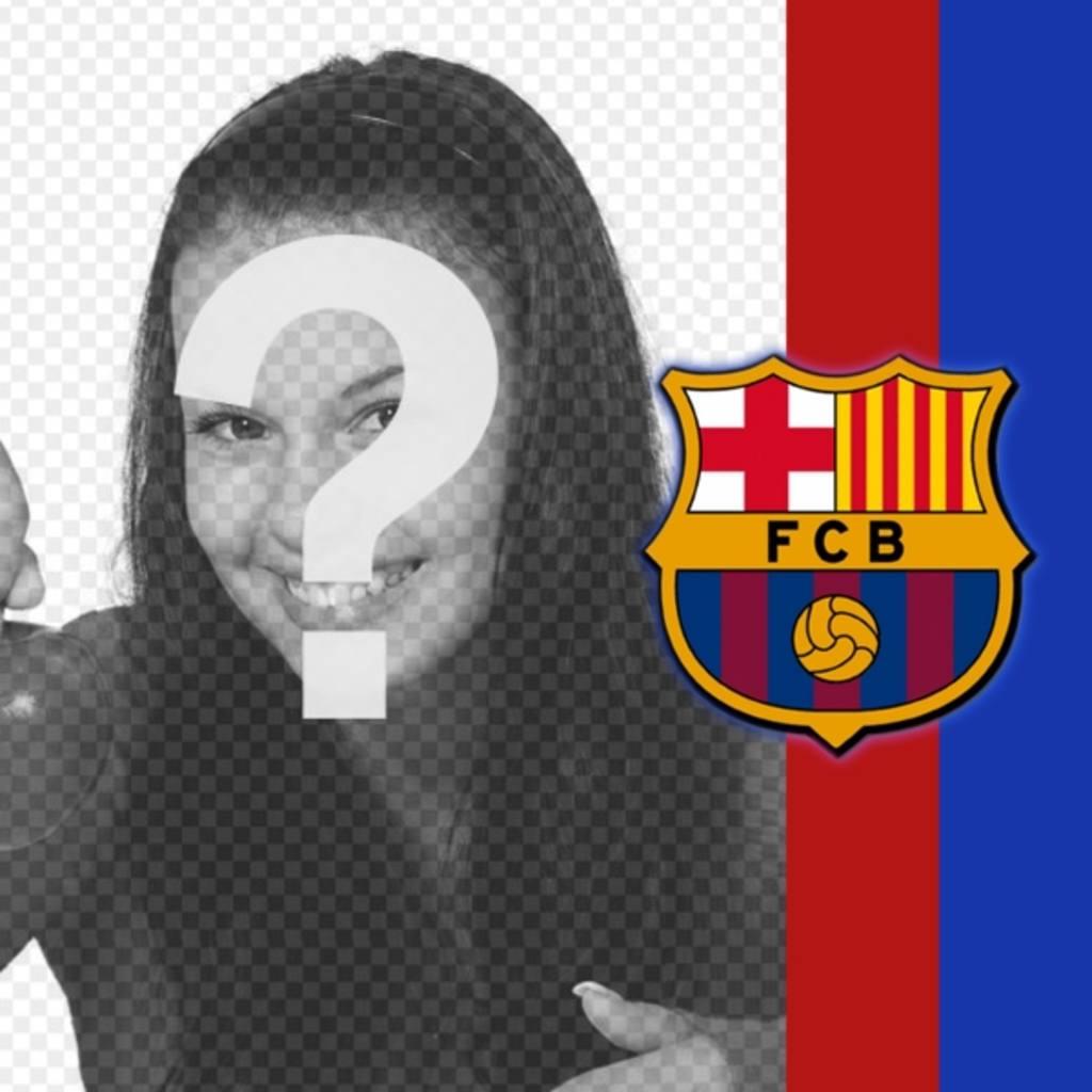 """Mettez les couleurs et l""""emblème de Barcelone dans vos photos et montrez vos couleurs!"""