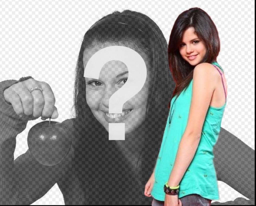 Photomontage avec Selena Gomez, télécharger votre photo et faites votre effet photo
