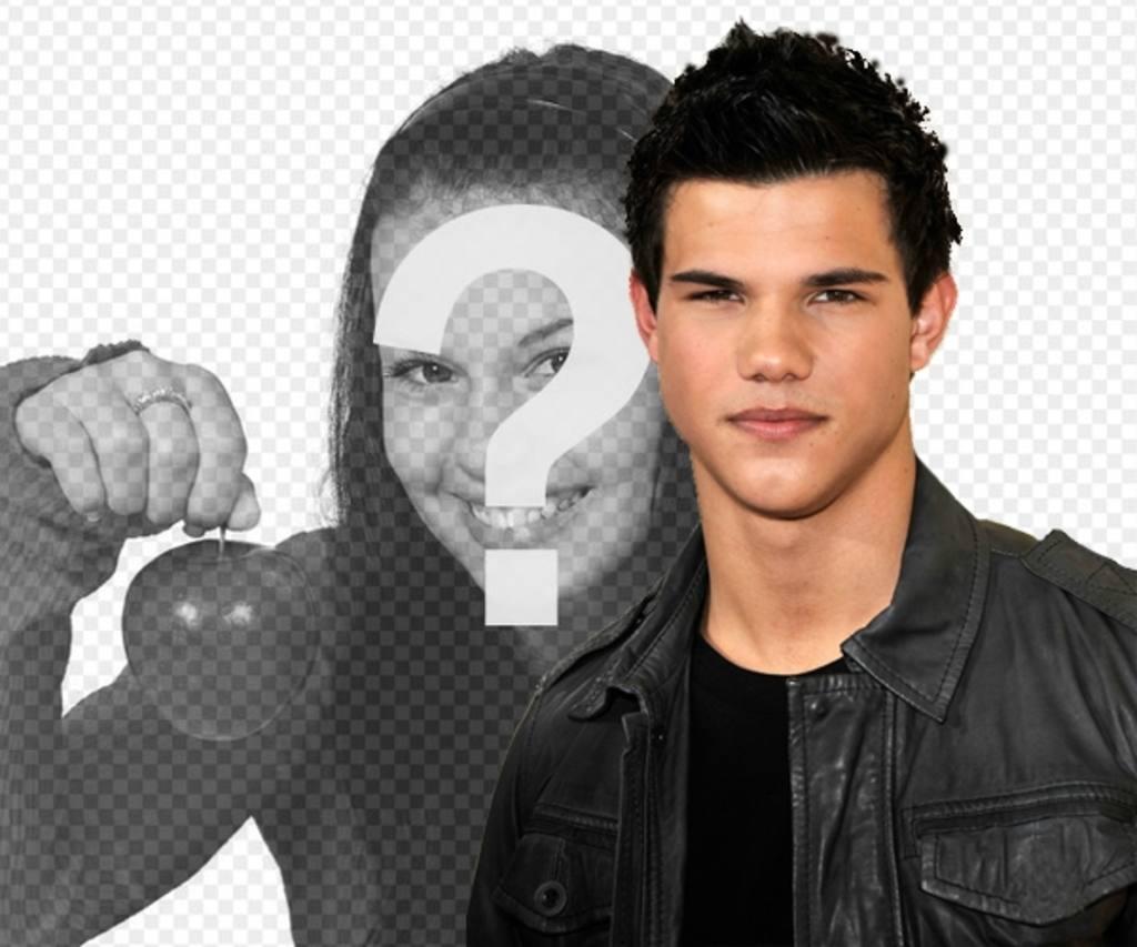 Montage photo avec Taylor Lautner de New Moon