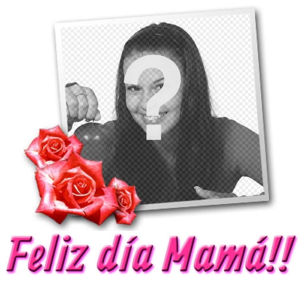 Carte pour la fête des mères avec le texte TE QUIERO MAMÁ!
