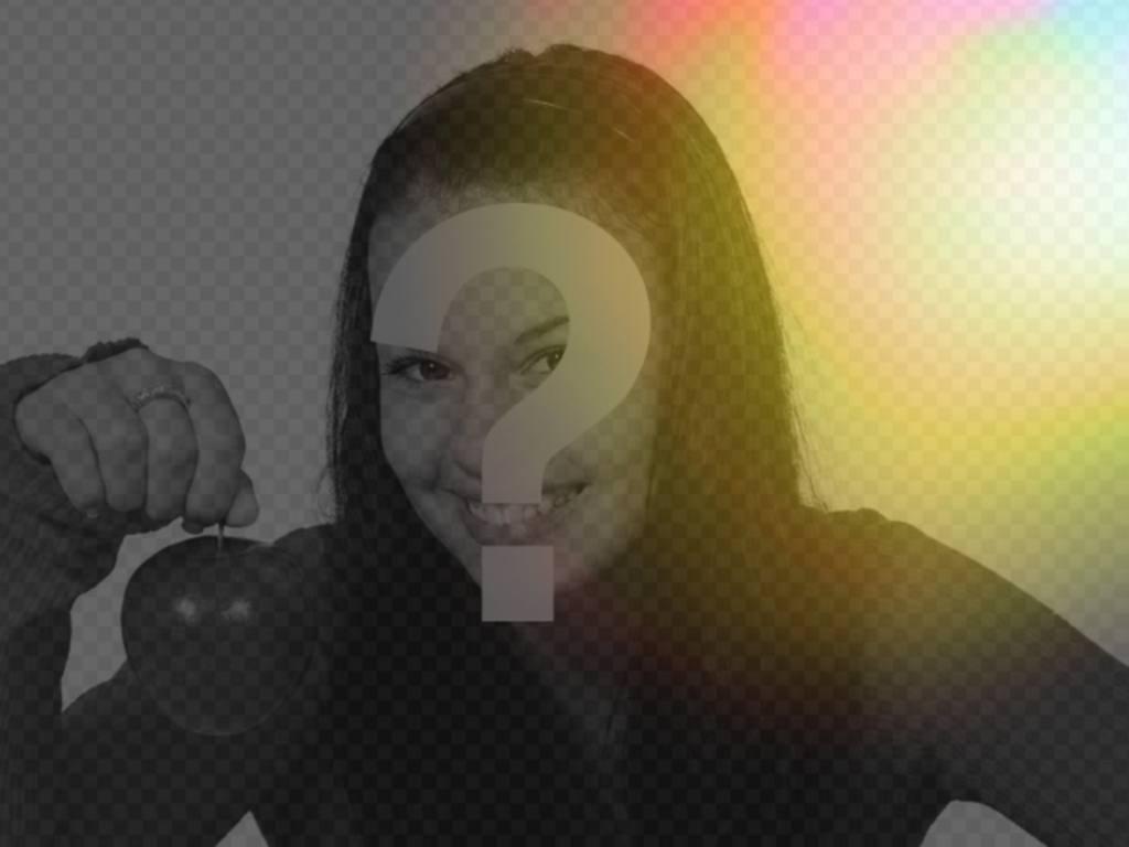 Filtre photo de lumières colorées oranges à appliquer à vos photos