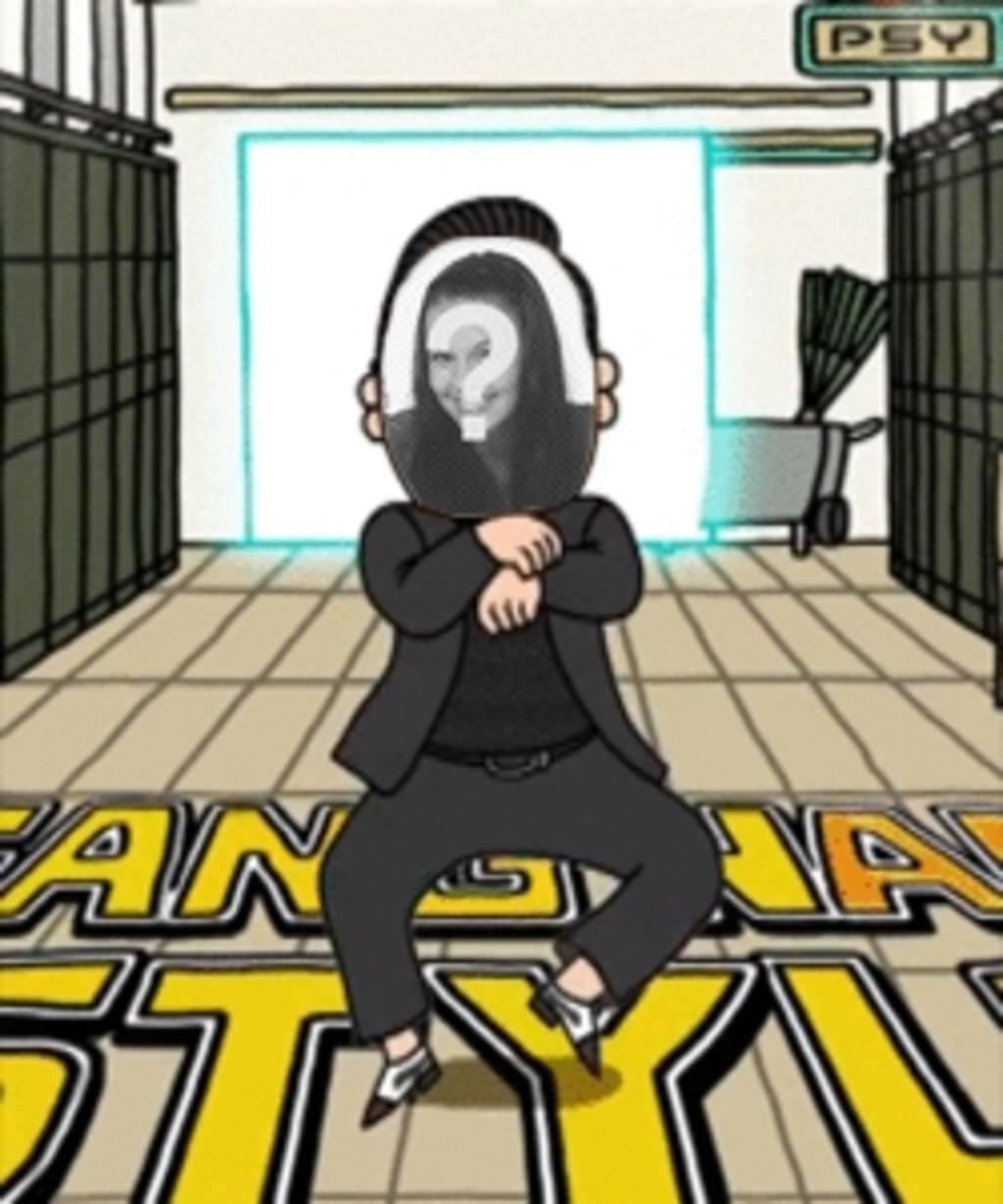 Créez votre propre animation de Psy Gagnam Style avec votre propre photo et surprenez vos amis