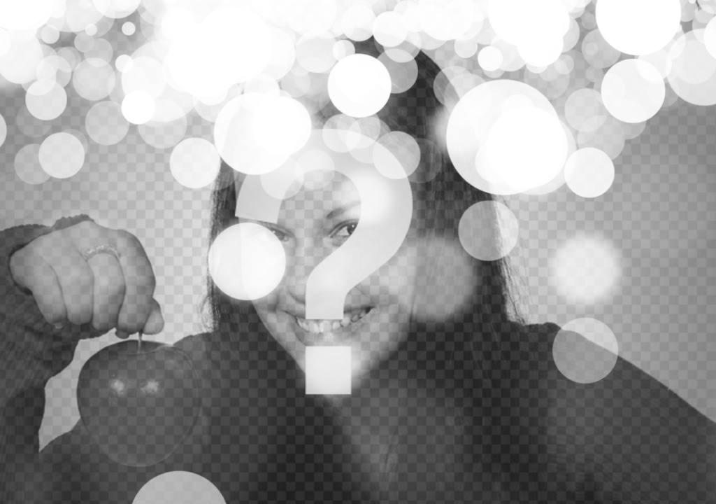Effet bokeh pour les photos, le flou des lumières. Pour rendre vos photos en ligne