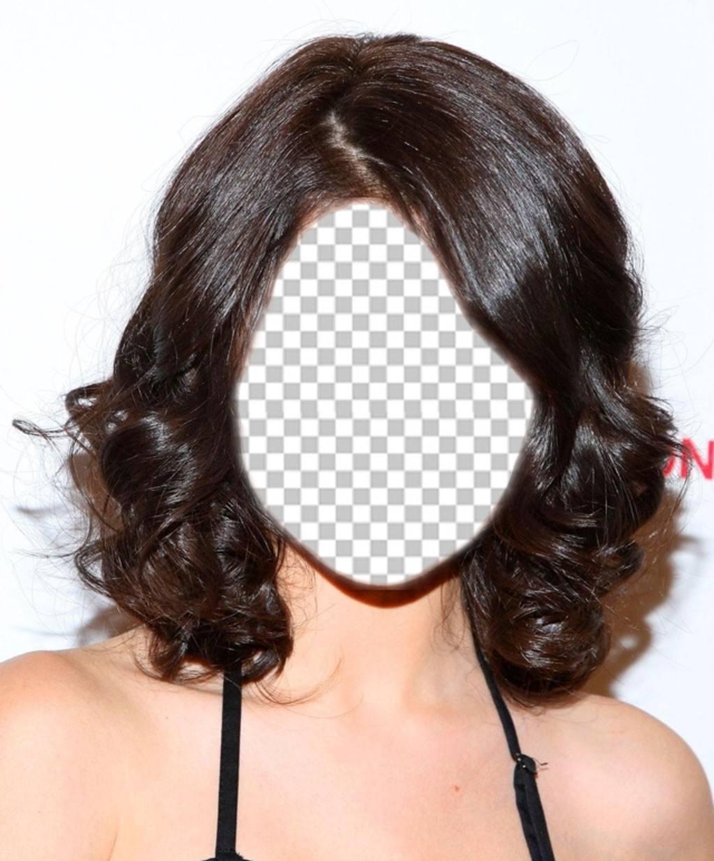 Obtenez le look de Selena Gomez avec ce photomontage pour éditer gratuitement