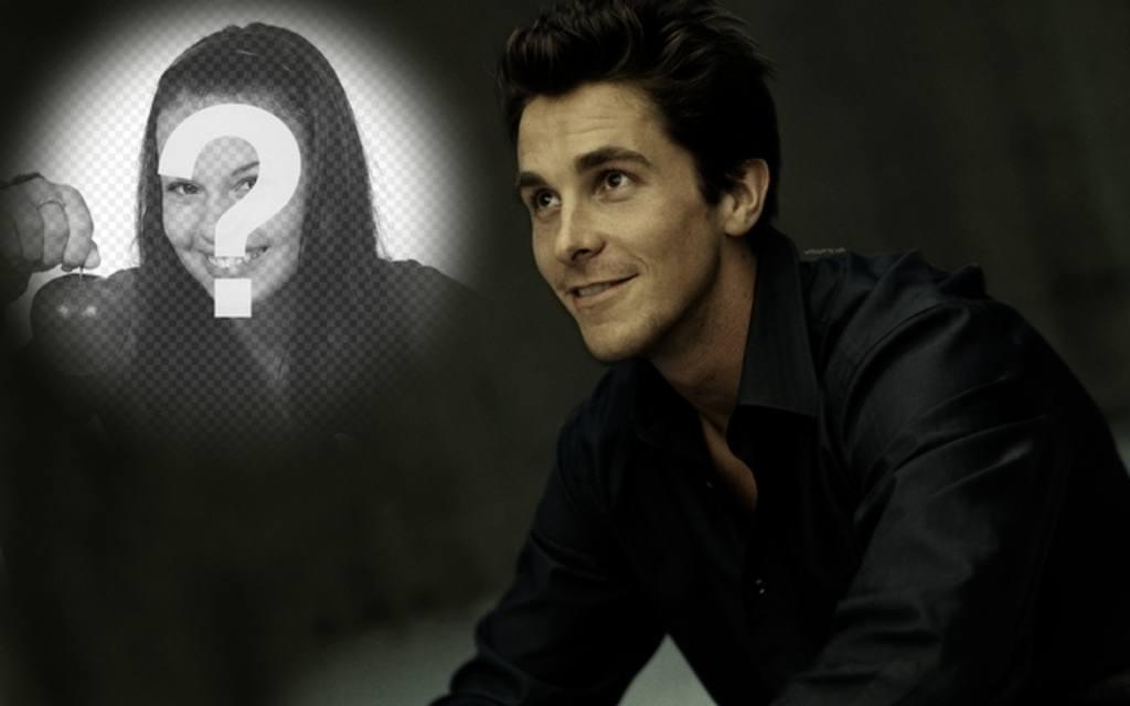 Photomontage avec Christian Bale, le dernier Batman pour mettre votre photo