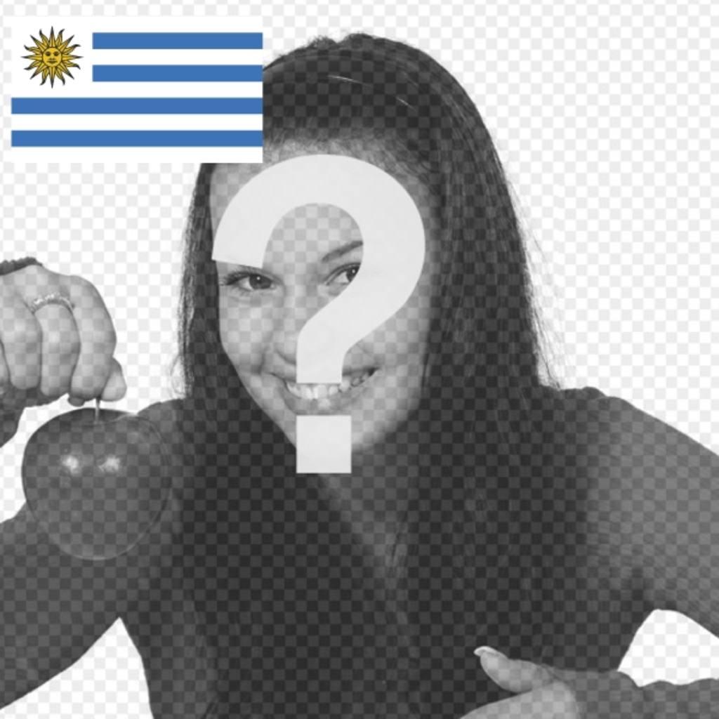 """Personnalisez votre photo de profil avec l""""Uruguay drapeau sur Facebook et Twitter"""