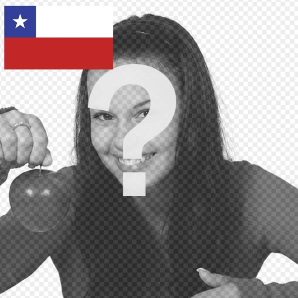 Concevez votre avatar avec le drapeau du Chili pour personnaliser vos profils de médias sociaux