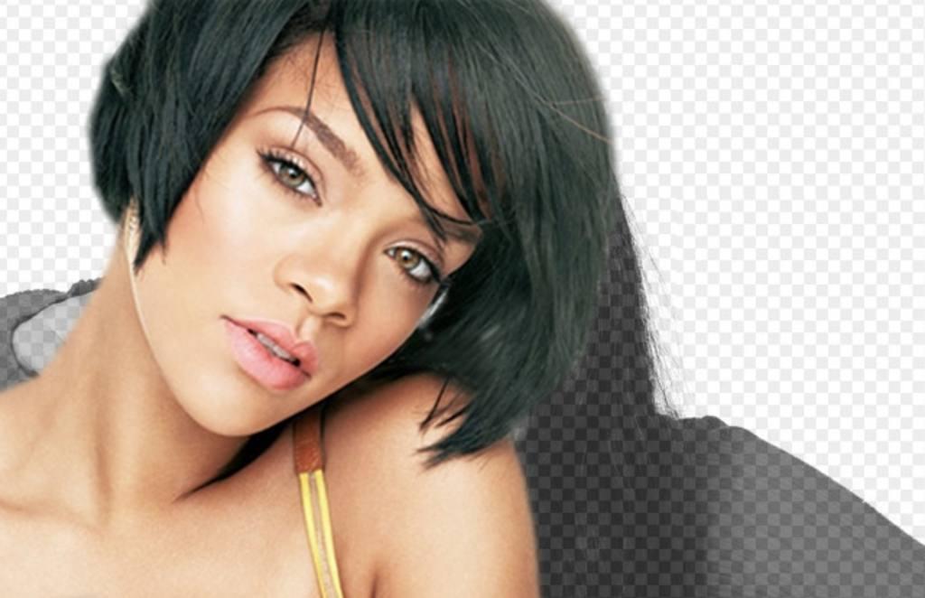Photomontage avec Rihanna, la chanteuse des hits: Parapluie ou de diamants, pour mettre votre photo et apparaissent avec elle