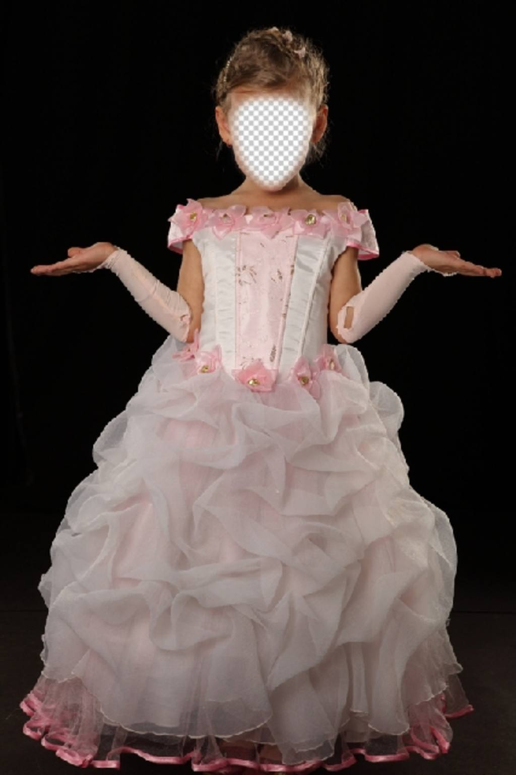 Devenir une petite princesse avec ce photomontage