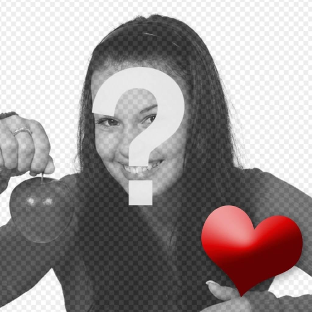 Photomontage animé de mettre un cœur qui bat dans votre photo